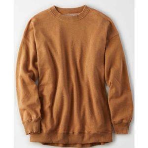 American Eagle Amazingly Soft Rust Sweatshirt